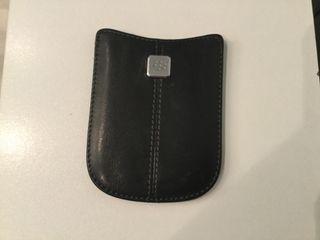 Funda Blackberry de cuero