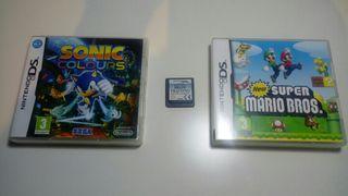 Pack Juegos Nintendo DS
