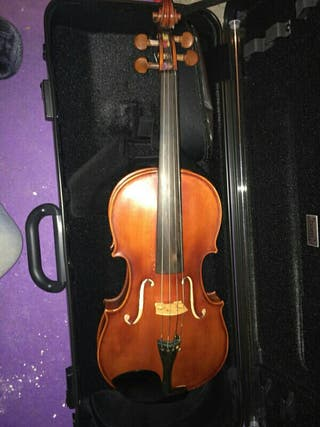"Usado, viola luthier 16"" hecha en francia segunda mano  España"