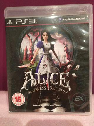 Alice Madness Returns (PS3)