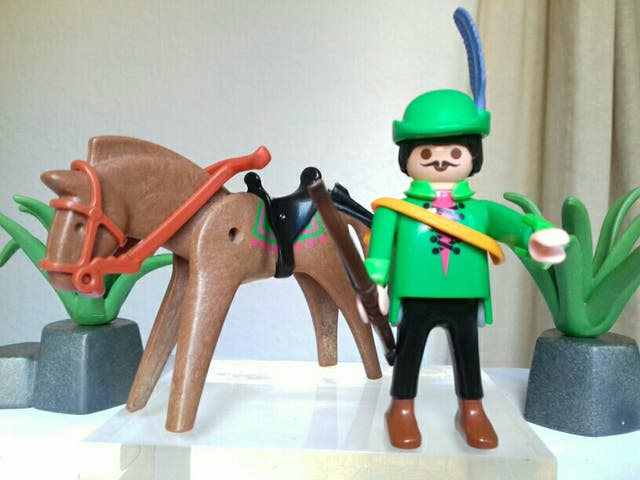 Playmobil robin hood completo de segunda mano por 7 en for Playmobil segunda mano
