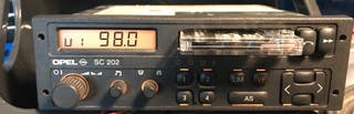 Radio sc 202 kadett gsi vectra