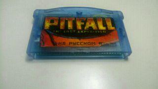 Juego Pitfall Para Game Boy Advance