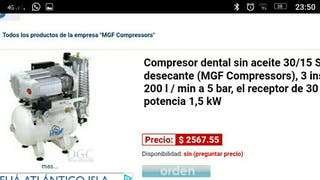 compresor dental