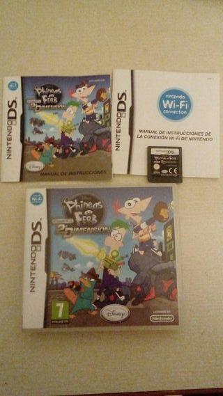 juego Phineas y Ferb