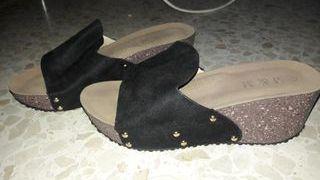156c6450 Zuecos Plataforma De Segunda Moda Zapatos Verano Mujer Zancos Mano  8wONnXkZ0P