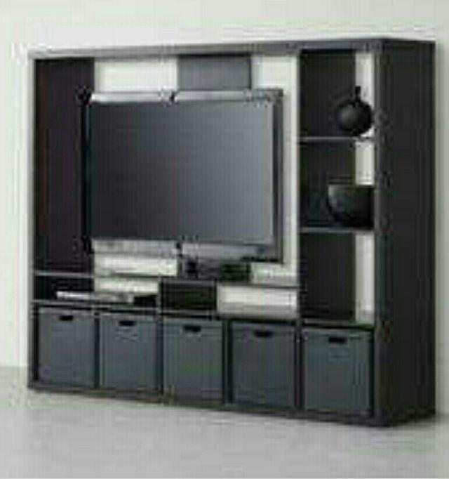 Mueble tv ikea lappland 4 puertas kallax de segunda mano for Mueble tv ikea segunda mano