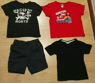 Lote ropa 5 añitos niño