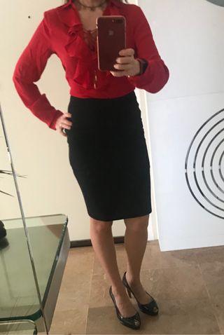 Camisa roja T S