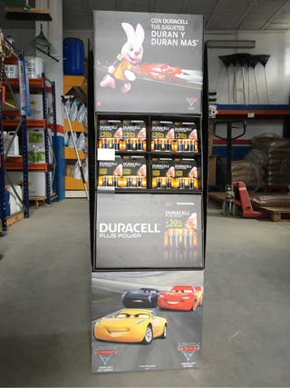 Expositor Duracell