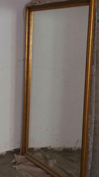 Espejo grande de segunda mano por 250 en madrid en wallapop - Espejos grandes segunda mano ...