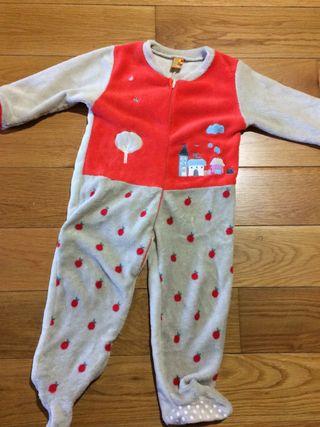 Pijama manta niña 3-4 años