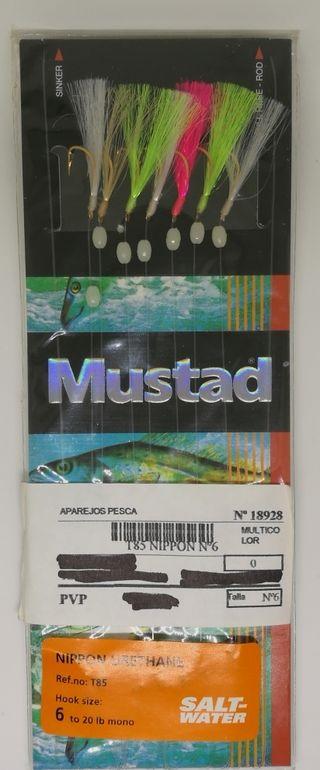 Señuelo de pesca Mustad Nippon Urethane