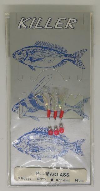 Señuelo de pesca Grauvell Plumaclass
