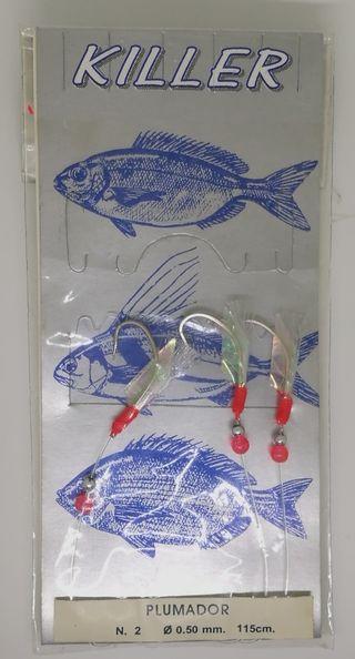 Señuelo de pesca Grauvell Plumador