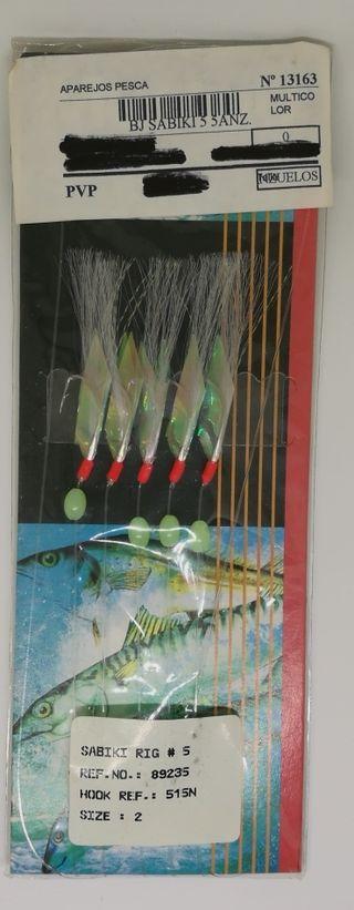 Señuelo de pesca Mustad Sabiki Rig