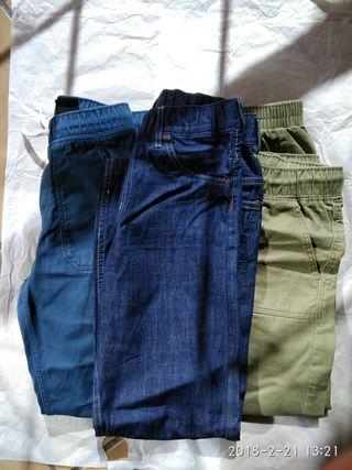 lote de pantalones x3