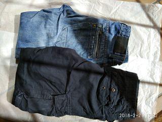 lote de pantalones x2