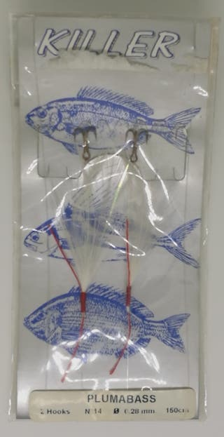 Señuelo de pesca Grauvell Plumabass