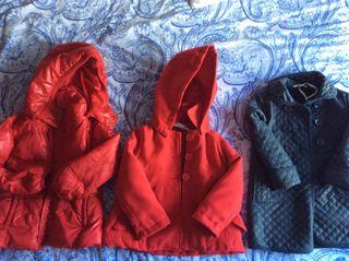 Lote chaquetas t 4_5 años