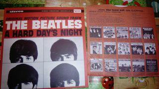 The Beatles. Carátula CD A Hard Day's Night.