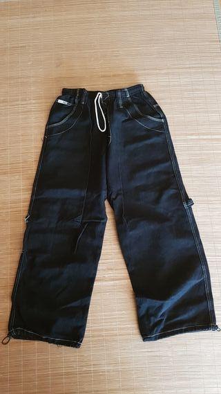 pantalon negro oldskool tiempo libre