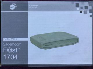 Router WiFi Sagecom Fast 1704