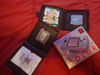 consola NeoGeo Pocket color