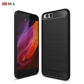Funda Rugged Carbon XIAOMI MI6 mi 6 de calidad TPU