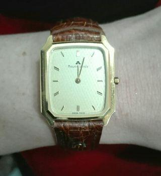 reloj oro 18k. Maurice Lacroix auténtico