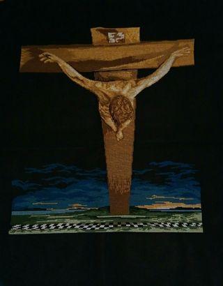 Cuadro punto cruz