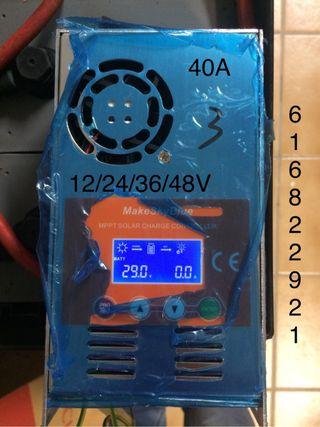 Kit 4 paneles + regulador 30A