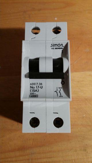 Magnetotermico Simon II 15A Nuevo