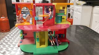 centro comercial hamburguesería polly pocket