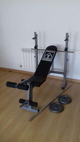 banco pesas+pesas