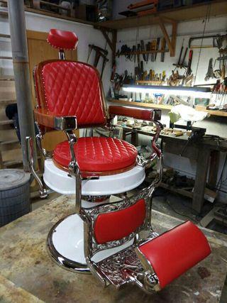 Impresionante sillón de barbero LUCYN año 1920