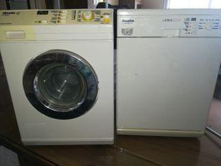 lote lavadora y lavavajillas juguete