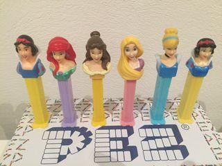 Dispensador caramelos PEZ. Princesas.