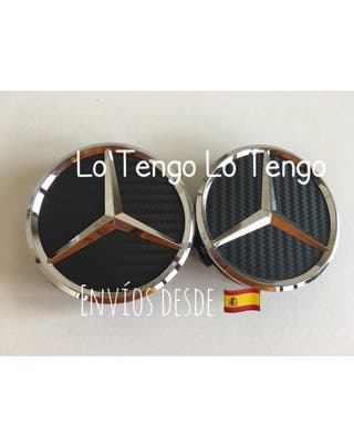 Set Tapabujes Mercedes Carbono-Varios Colores