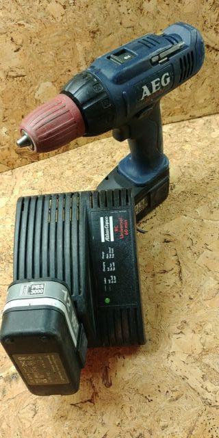 Taladro,Atornillador AEG baterias