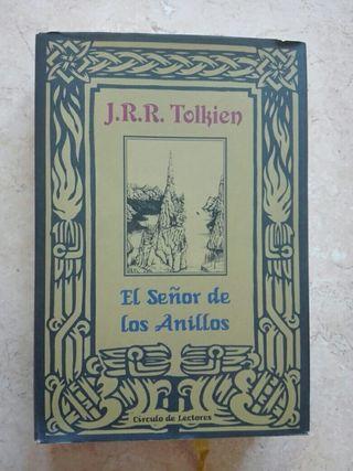 """¡REBAJADOLibro Trilogía """"El Señor de los Anilllos"""""""