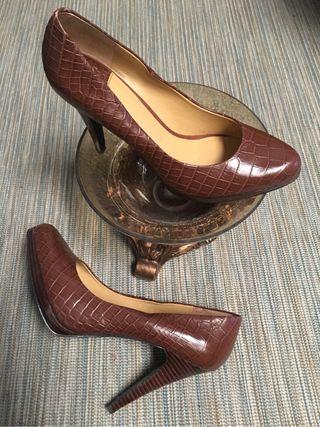 De Segunda Por Nine Mujer Oferton Americanos West Zapatos Mano EzYBqBU