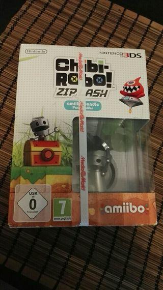 JUEGO+AMIIBO CHIBI-ROBO NINTENDO 3DS