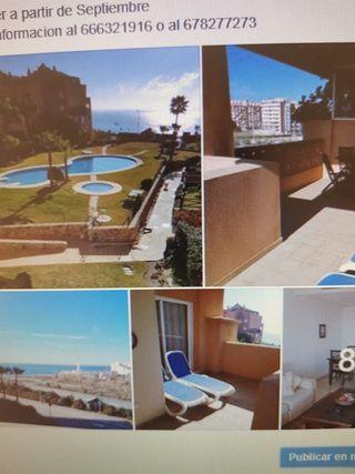 Apartamento 1 linea playa Torrox costa