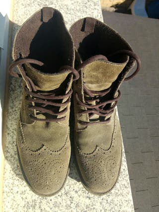 Zapato bota de Piel Num. 43