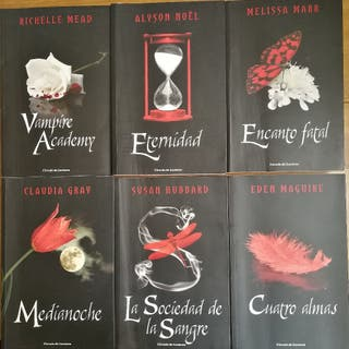 Colección libros Vampiros