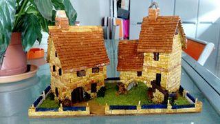 maquetas de casas hechas a mano