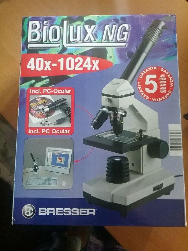 Microscopio biolux NG perfecto estado