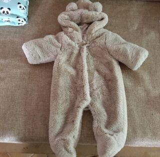 Buzo,abrigo,cazadora bebe 1-3m