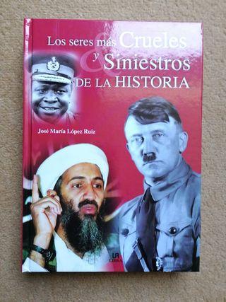 Libro los seres más crueles de la historia